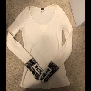 Free people vintage thermal size small